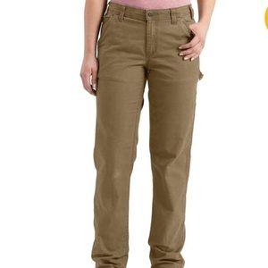 Carhartt Crawford women's carpenter pants size 6